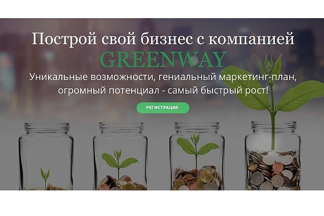 Создание одностраничника на Wordpress 27 - kwork.ru