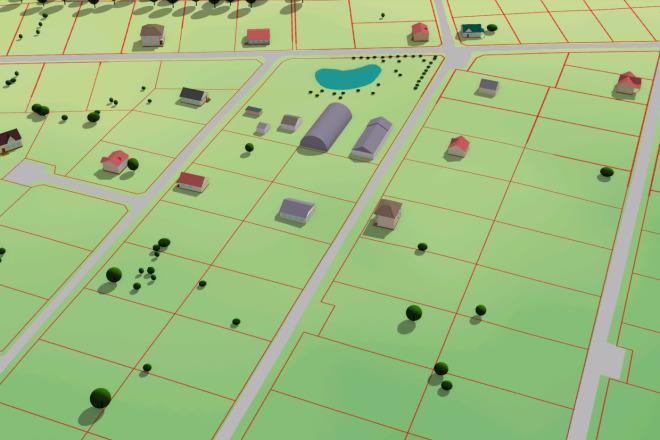 Выполню трехмерную модель местности 6 - kwork.ru
