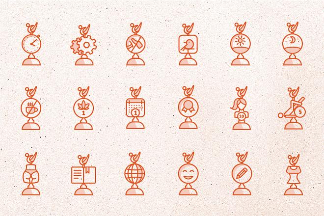 Нарисую эксклюзивные векторные иконки 8 - kwork.ru