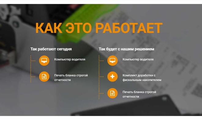 Лендинг для любых целей на Wordpress 56 - kwork.ru