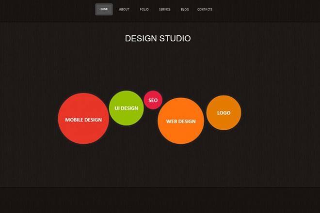 Дизайн страницы сайта в PSD 39 - kwork.ru