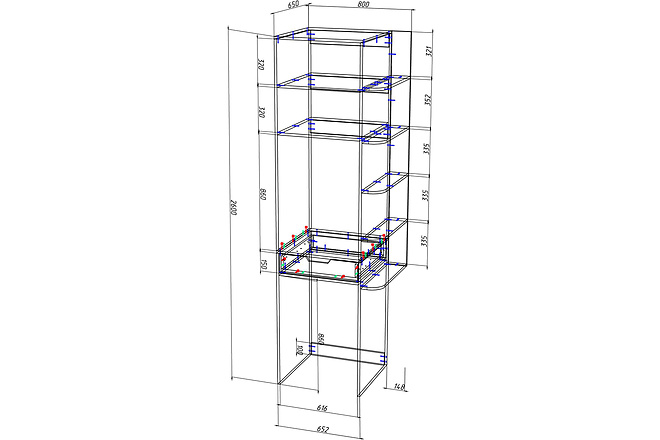 Конструкторская документация для изготовления мебели 85 - kwork.ru
