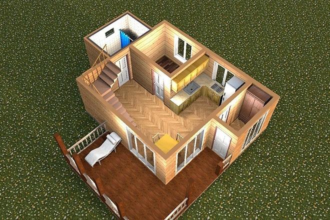 3D визуализация помещений 17 - kwork.ru