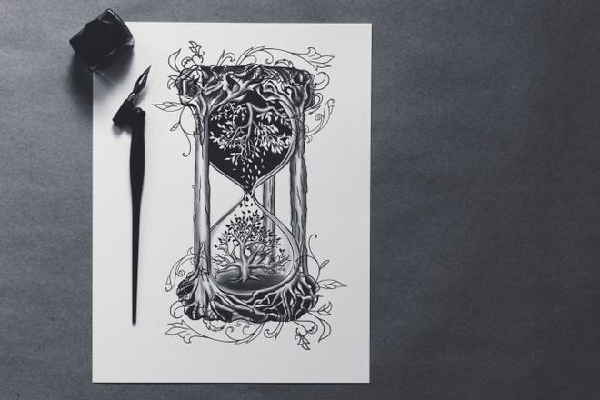 Нарисую иллюстрацию по фотографии 4 - kwork.ru