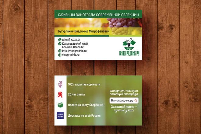 3 варианта дизайна визитки 62 - kwork.ru