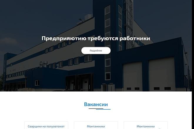 Landing Page с 0 + дизайн 46 - kwork.ru