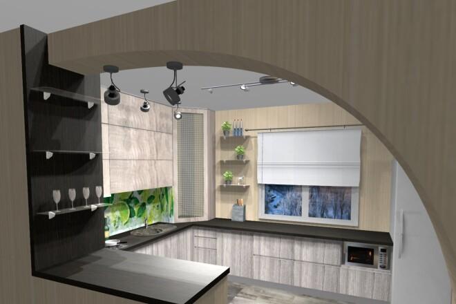 Проектирование корпусной мебели 22 - kwork.ru