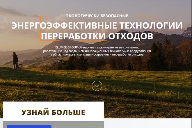 Сделаю копию любого сайта-визитки в html 3 - kwork.ru