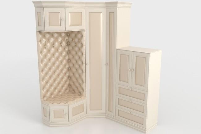 Визуализация мебели, предметная, в интерьере 65 - kwork.ru