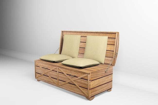 Визуализация мебели, предметная, в интерьере 69 - kwork.ru