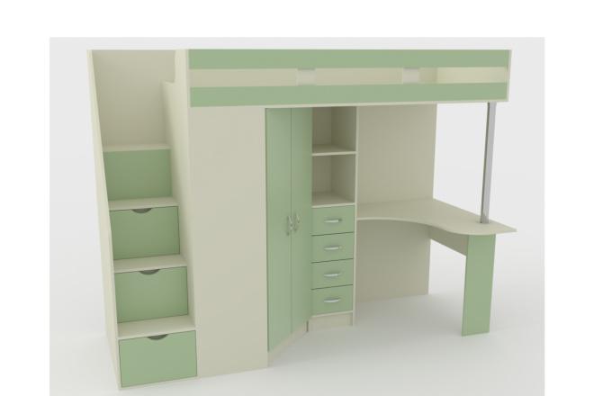 Конструкторская документация для изготовления мебели 3 - kwork.ru