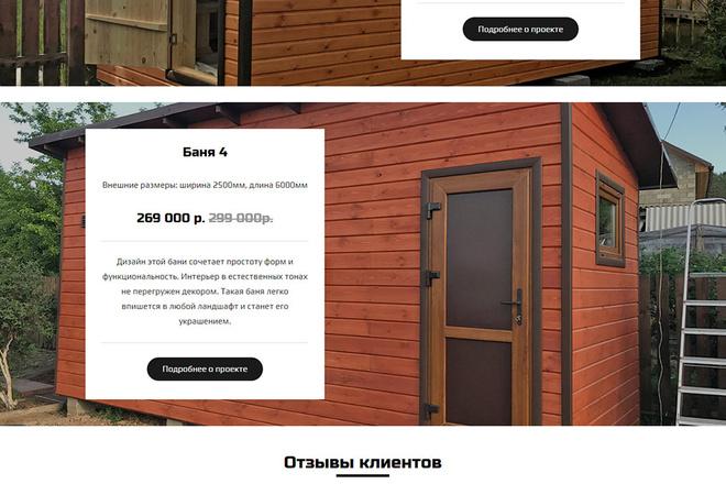 Создание красивого адаптивного лендинга на Вордпресс 18 - kwork.ru