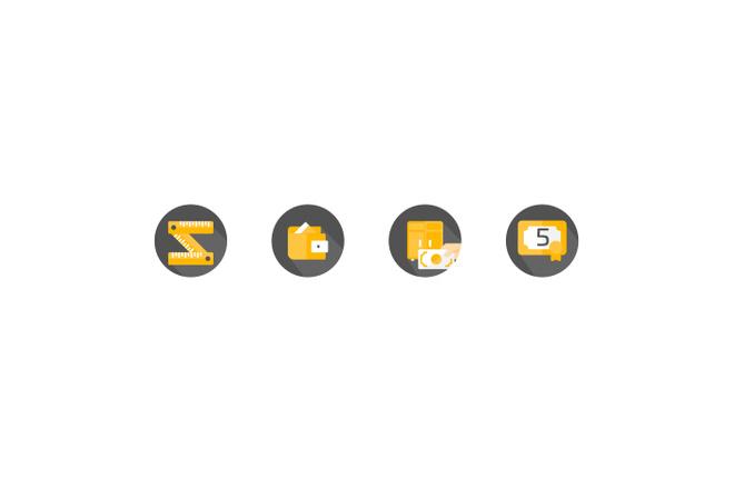Создам 5 иконок в любом стиле, для лендинга, сайта или приложения 37 - kwork.ru