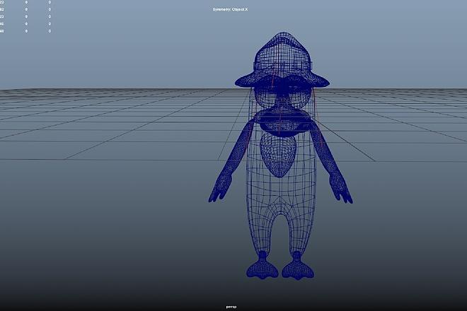 Создам трехмерную модель в формате OBJ 9 - kwork.ru
