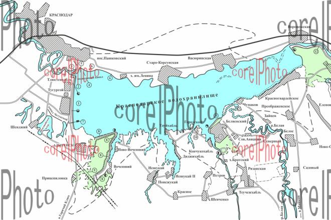Отрисовка и оформление карт, схем 8 - kwork.ru
