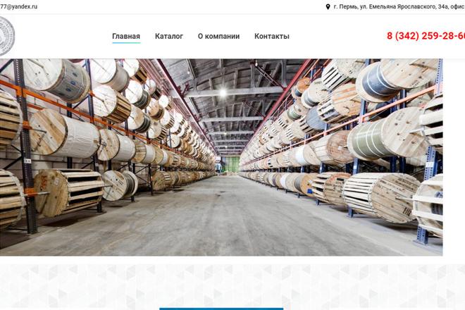 Скопирую почти любой сайт, landing page под ключ с админ панелью 7 - kwork.ru
