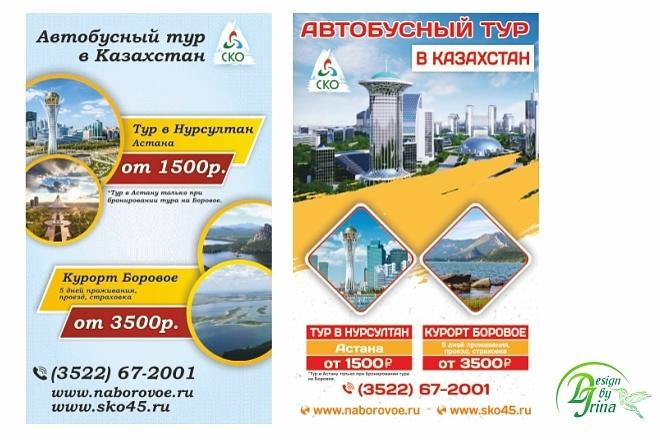 Рекламный баннер 68 - kwork.ru