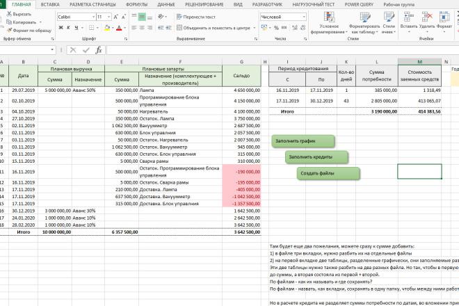 Excel формулы, сводные таблицы, макросы 46 - kwork.ru