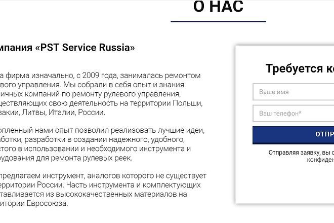 Создам лендинг на вордпресс 26 - kwork.ru
