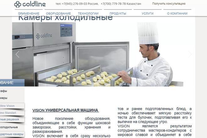 Создание сайтов на конструкторе сайтов WIX, nethouse 90 - kwork.ru