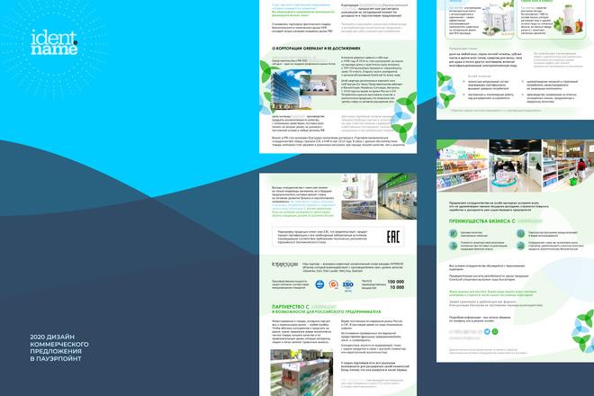 Продающая презентация. Разработка структуры и дизайна 1 - kwork.ru