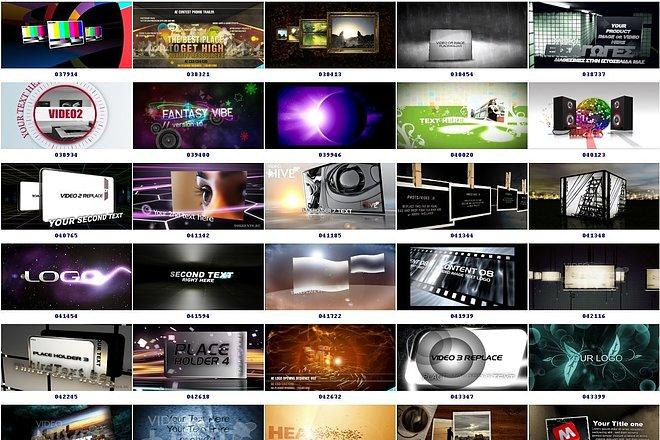 4050 Видео шаблонов для After Effects + Подарок 16 - kwork.ru