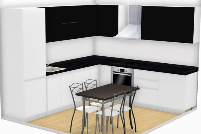 Создам 3D дизайн-проект кухни вашей мечты 5 - kwork.ru