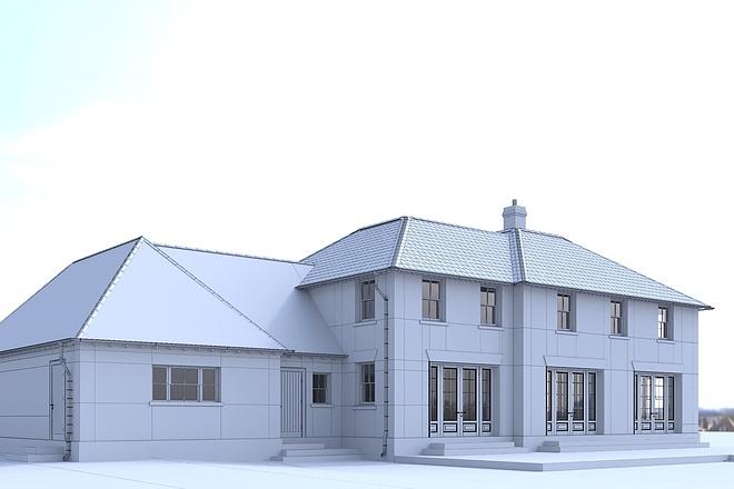 Архитектурное 3d моделирование 20 - kwork.ru
