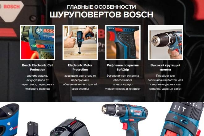 Копии двух лендингов из каталогов товарных CPA за 500 рублей 14 - kwork.ru