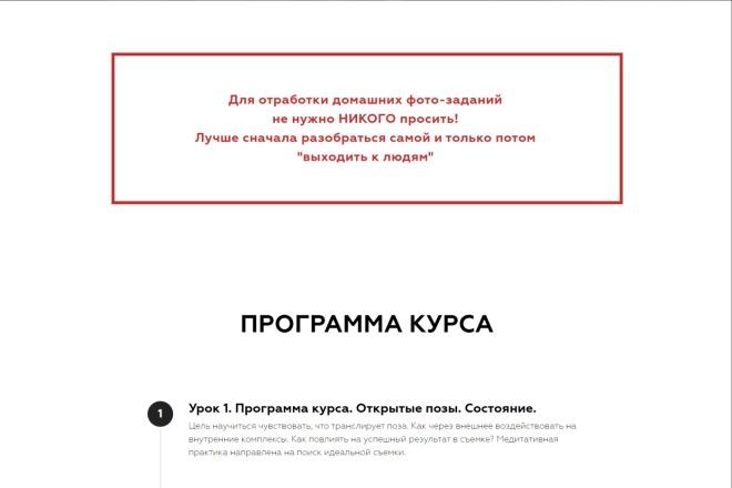 Качественная копия Landing Page на Tilda 8 - kwork.ru