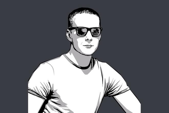 Качественный поп-арт портрет по вашей фотографии 19 - kwork.ru
