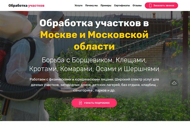 Создам сайт-одностраничник лендинг + 2 подарка 6 - kwork.ru