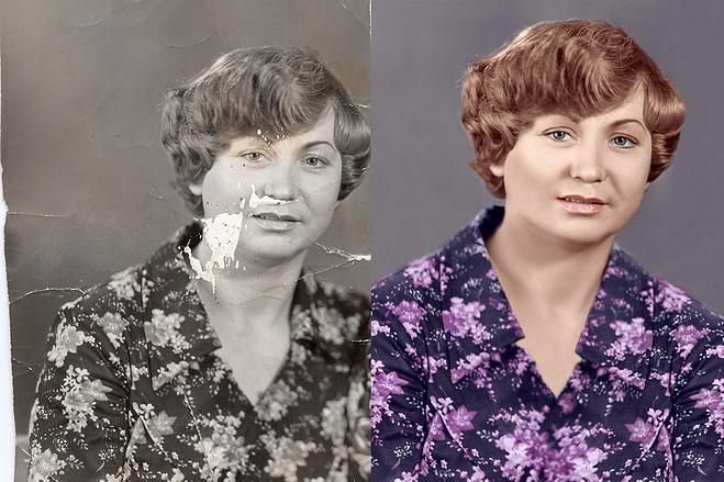 требуются реставрация старых фото иваново любовь ней