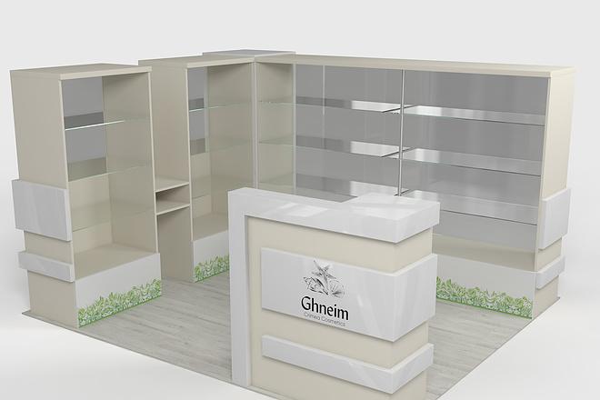 Визуализация мебели, предметная, в интерьере 40 - kwork.ru