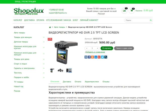 Профессионально создам интернет-магазин на insales + 20 дней бесплатно 68 - kwork.ru
