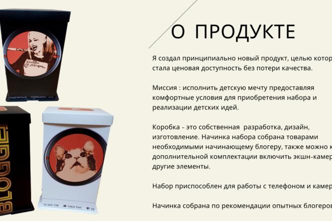 Стильный дизайн презентации 225 - kwork.ru