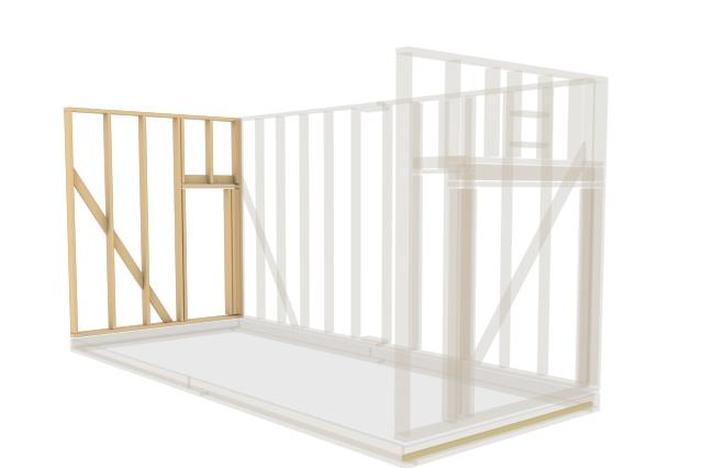 Сделаю 3D проект каркасного дома 12 - kwork.ru