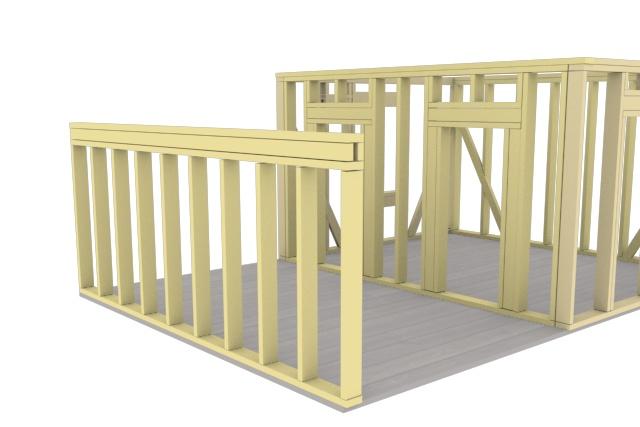 Сделаю 3D проект каркасного дома 11 - kwork.ru