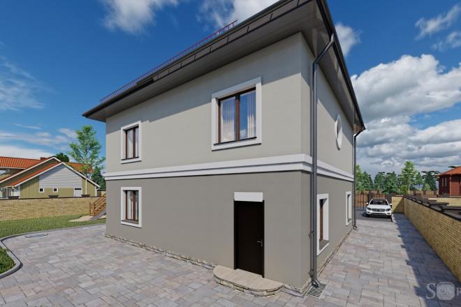 Фотореалистичная 3D визуализация экстерьера Вашего дома 58 - kwork.ru