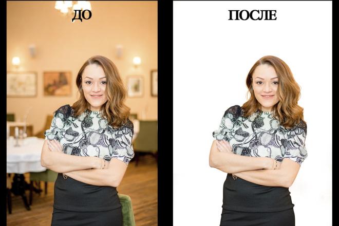 Обтравка изображений. Сменю,вырежу фон на белый или любой предложенный 8 - kwork.ru