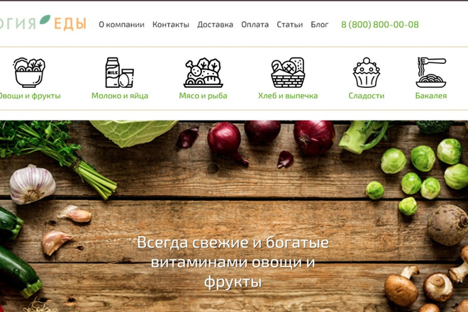 Поправлю верстку на любом шаблоне inSales 2 - kwork.ru