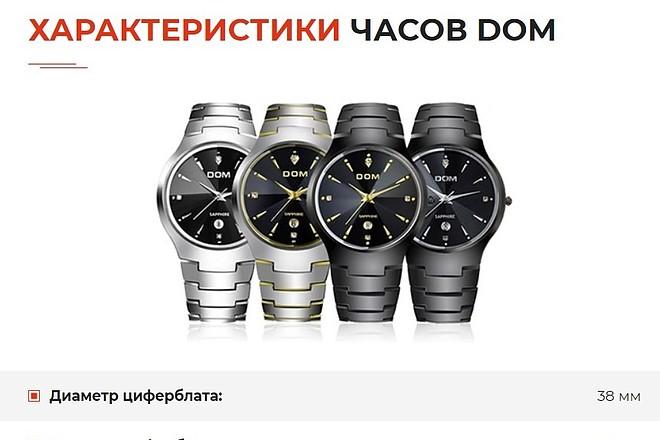 Скопирую одностраничный сайт, лендинг 14 - kwork.ru