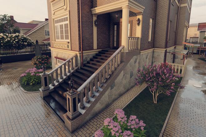 Моделирование и визуализация зданий 49 - kwork.ru