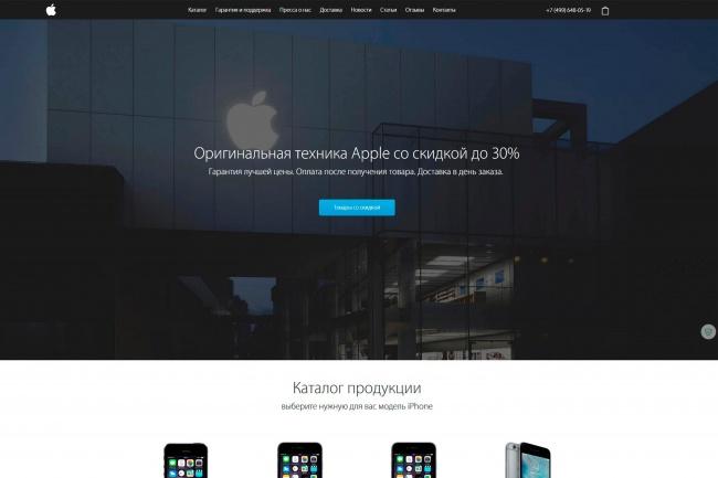 Сделаю копию любого Landing page 27 - kwork.ru