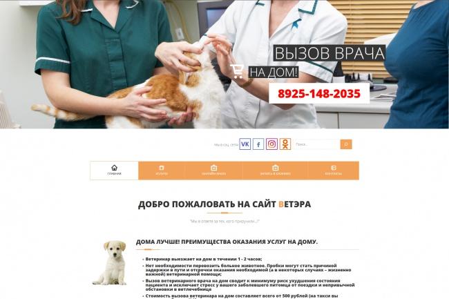 Сделаю копию любого Landing page 42 - kwork.ru