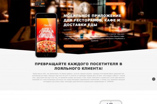 Сделаю копию любого Landing page 25 - kwork.ru