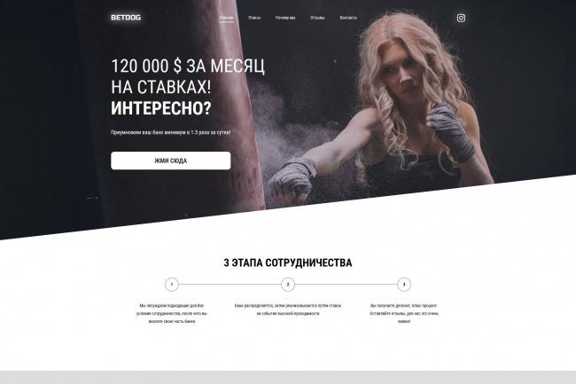 Сделаю копию любого Landing page 20 - kwork.ru