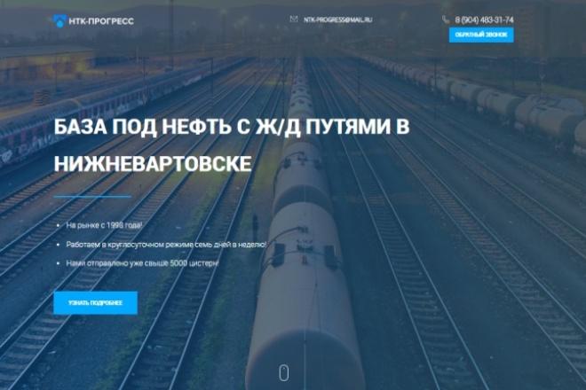 Верстка, Адаптация HTML, CSS, JS из PSD 22 - kwork.ru