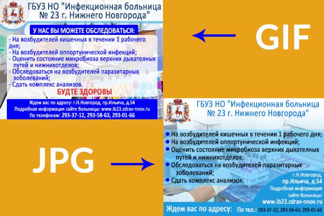 Сделаю 2 качественных gif баннера 88 - kwork.ru