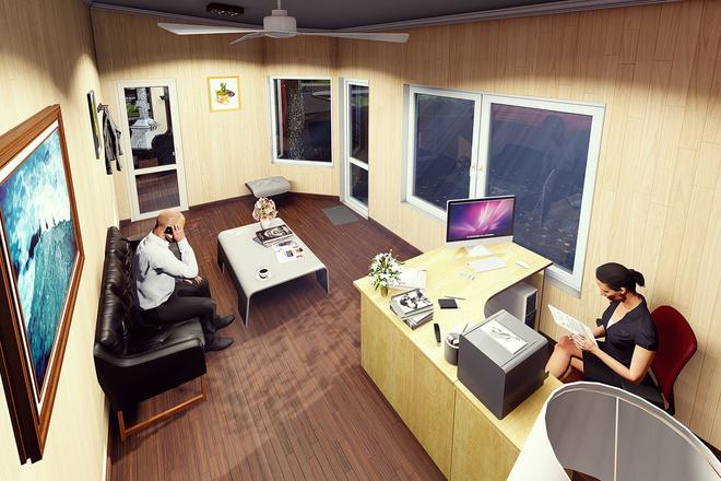Моделирование и визуализация зданий 19 - kwork.ru